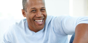 Happy Black Male