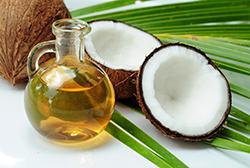 Coconut oil for alternative medicine