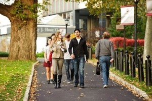 Students walking to class - Substance Abuse
