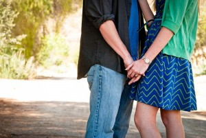 Man and woman holding hands and dealing with Sexual Addiction