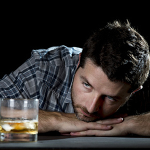 Man Struggling with Alcoholism