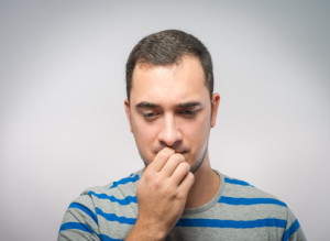 Man stressed about Addressing co-occurring disorders