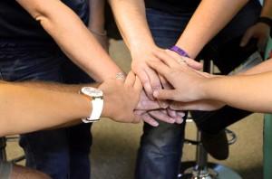 teamwork shows good Addiction Group Leadership
