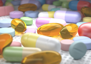 A bunch of pills