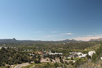 View of Prescott AZ from Mountain