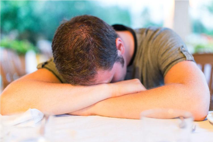 Boy Hungover After Using Alcohol And Marijuana _ Addiction Hope