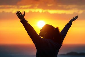 Woman-Praising-And-Enjoying-God