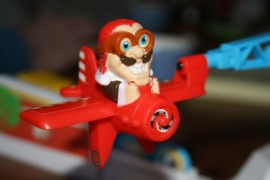 Looping Louie Aircraft Fly Cartoon Toys Board Game