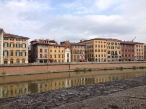 Pisa Italy City River Autumn Toscany Cities