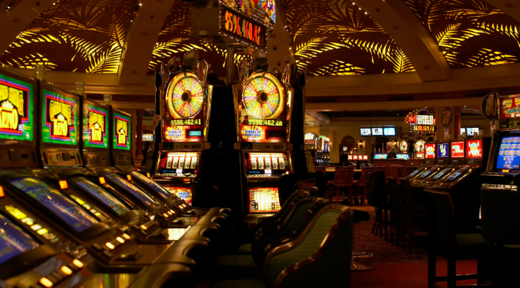 Bright Lights Of A Casino - Addiction Hope