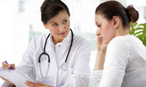 Methadone Doctor Working With Reluctant Woman