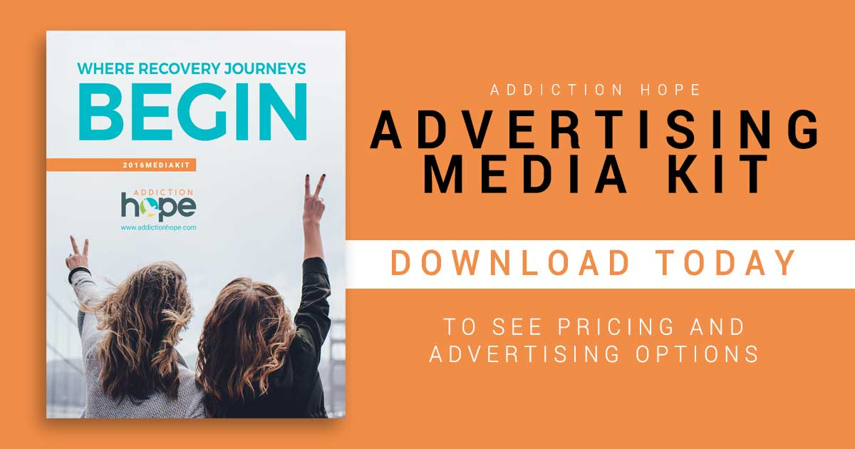AddictionHope Advertising Media Kit