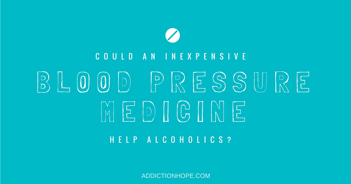 Blood Pressure Medicine Pindolol Help Alcoholics - Addiction Hope