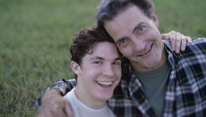 Father And Teenage Son Hugging - Addiction Hope