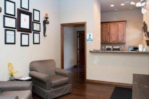 Reflections Recovery Center's front desk