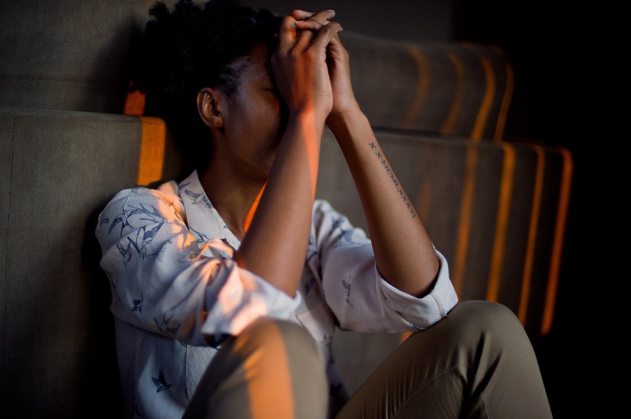 woman managing stress
