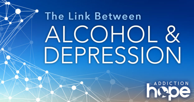 alcohol addiction depression