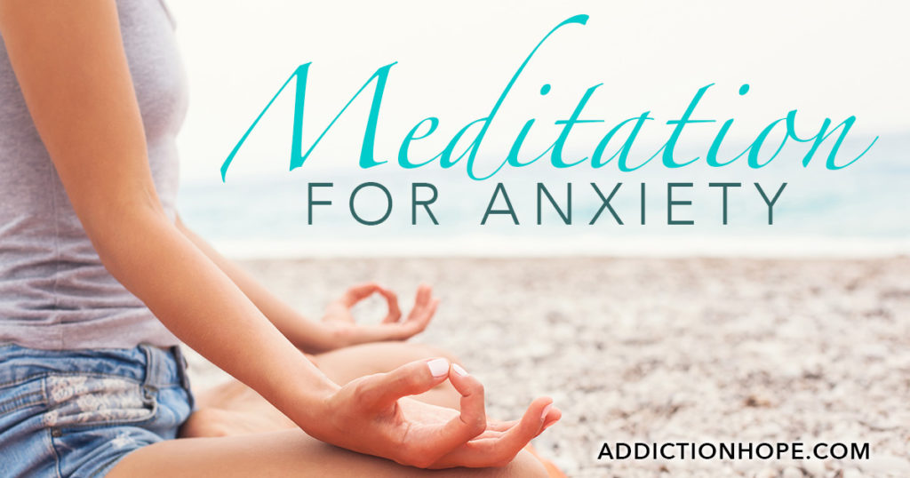 Meditation For Anxiety On Beach - Addiction Hope