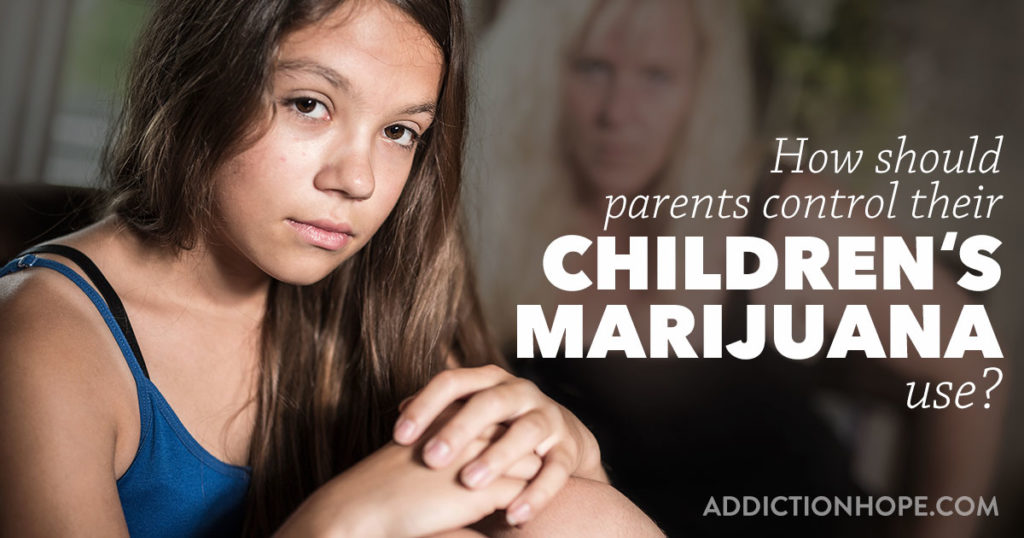 Parents Control Childrens First Joint At Home - Addiction Hope