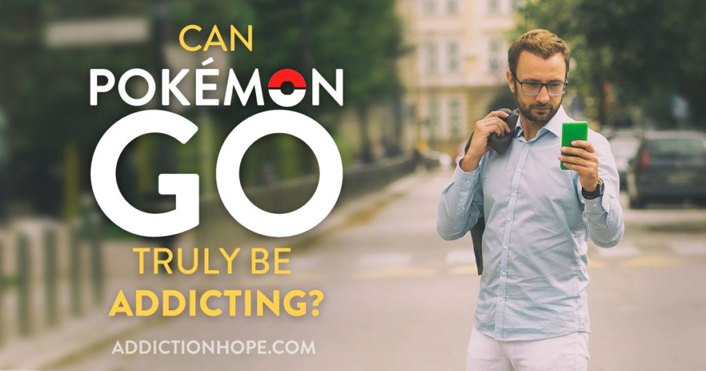 Pokemon Go Addiction Collect Them All - Addiction Hope
