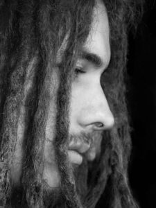 Man with dread locks
