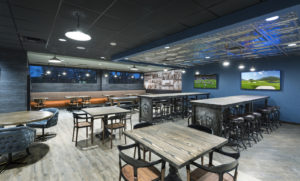 Lakeview dining area