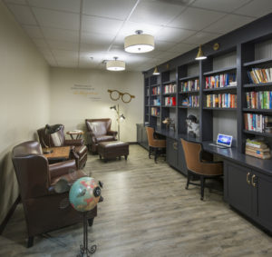 Lakeview Health's Library
