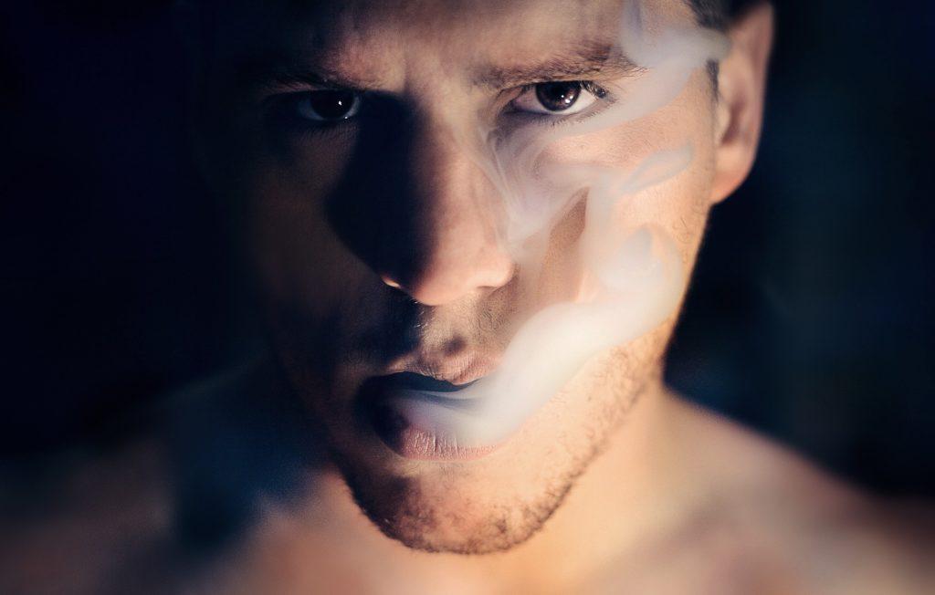 Smoking man