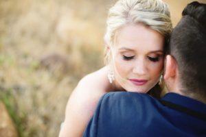 Couple Intimately Hugging