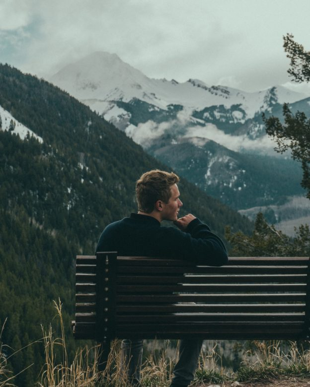 Man thinking of stopping opioid use