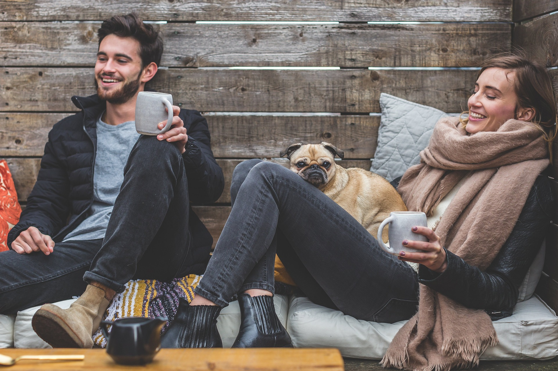 Man explaining Addiction to Loved Ones while drinking coffee