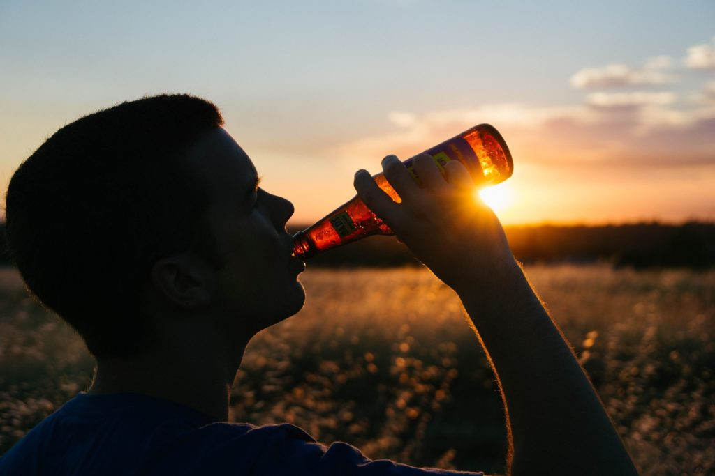 Teen struggling with Unhealthy Alcohol Use