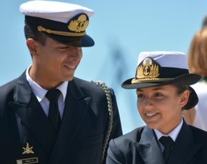 Two sailors getting PTSD help