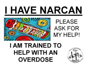 Narcan Door Poster