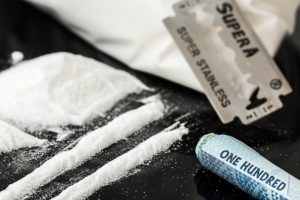 cocaine used in cocaine addiction