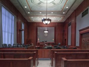 Courtroom in Drug Courts