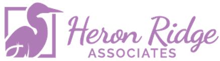 Heron Ridge Pink Logo - 437x122