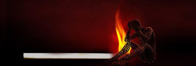 Match Burning Model of Man