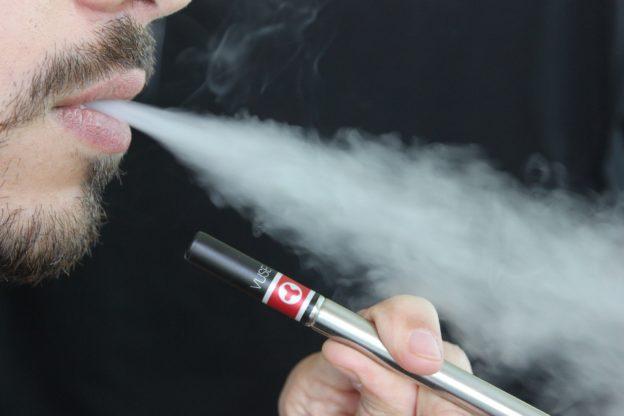 Guy with E-cigarette