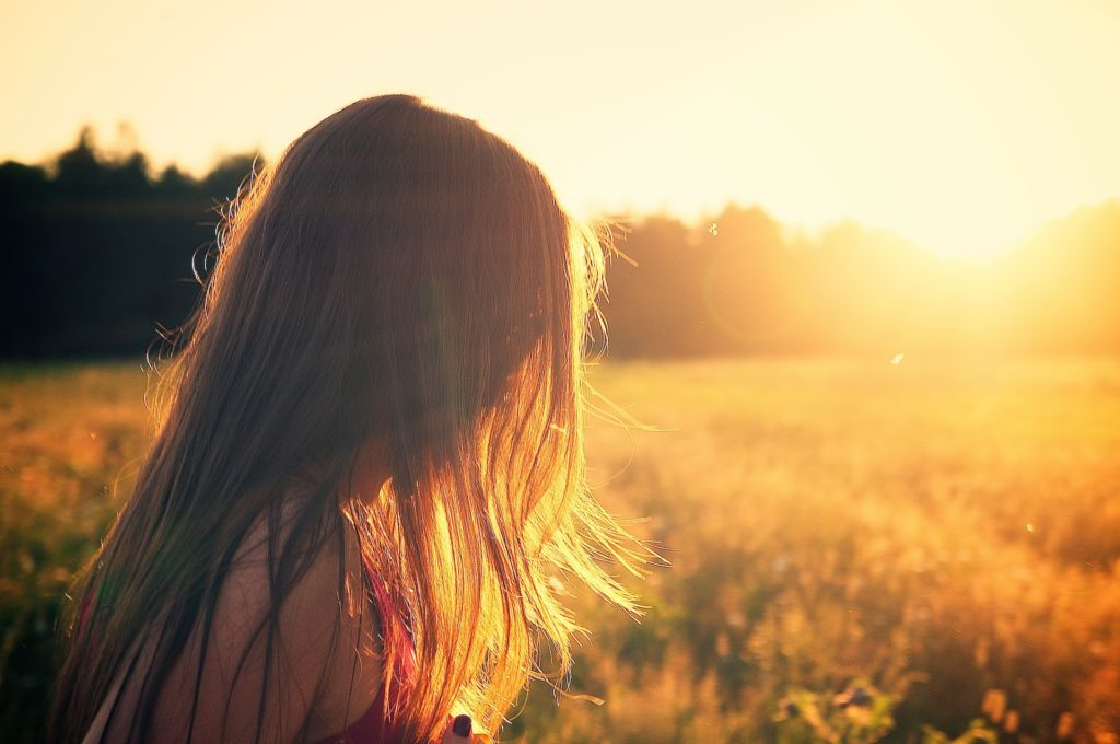 Girl in sunset thinking about Treatment for Prescription Drug Addiction