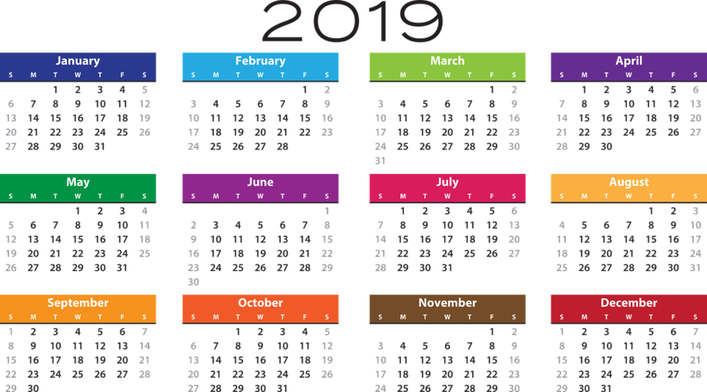 Image of 2019 Addiction Hope Calendar