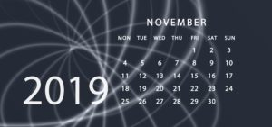 Nov 2019 Addiction Hope Calendar