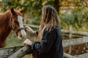 Girl with Horse battling cocaine's impact